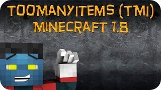 Como Instalar Mods no Minecraft 1.8 - TooManyItems (TMI)