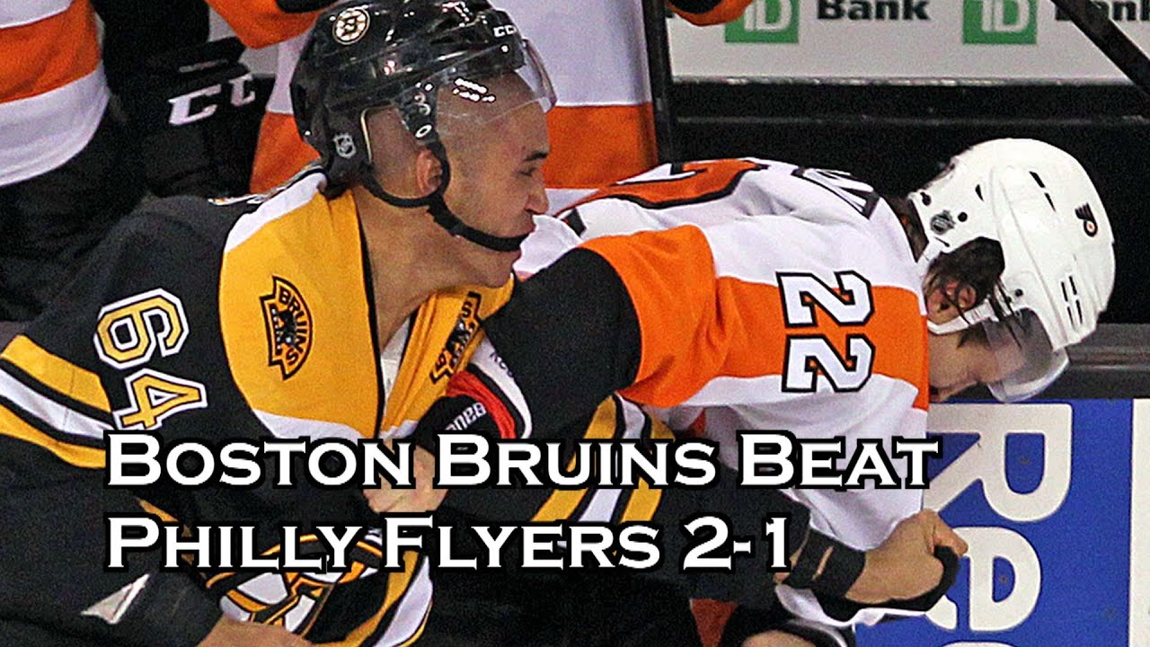 Bruins fall to Flyers 4-1 in round-robin opener