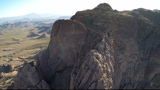 From the Air - Superstition Mountains of Arizona 4-18-15