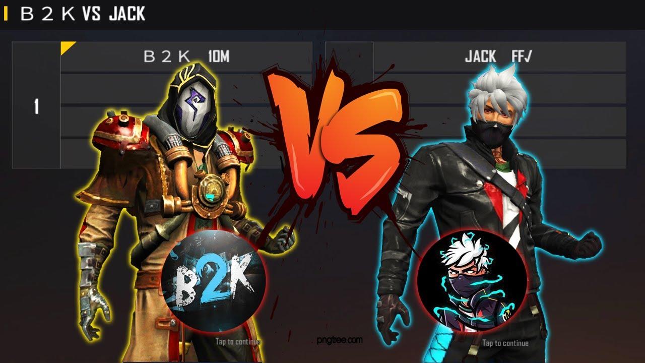 B2K VS JACK FF | BORN2KILL AWM KING VS JACK FF ONE TAP - 1V1 MENA LEGENDS FIGHT - بورن تو كيل ضد جاك