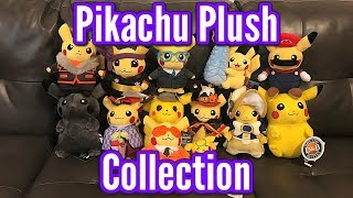My Pikachu Plush Collection