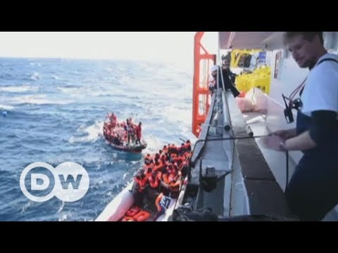 Charities under fire for rescuing migrants | DW English