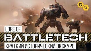 Cogitator #0. Battletech Lore. Краткий исторический экскурс.
