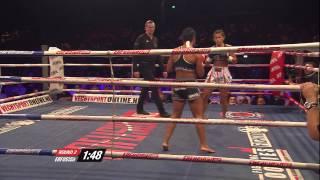 Denise Kielholtz(The Netherlands) VS Tiffany van Soest(USA)