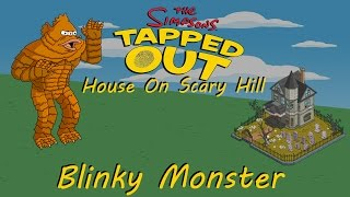 """The Simpsons Tapped Out """"Gil Deal"""" (Treehouse of Horror XXVII- Blinky Monster)"""