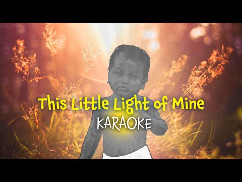 This Little Light Of Mine | Song For Children | Karaoke With Lyrics