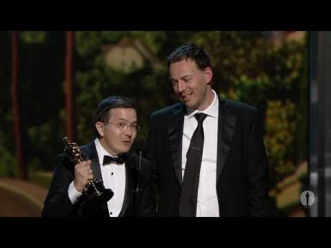 """The Lost Thing"" winning Best Animated Short Film"