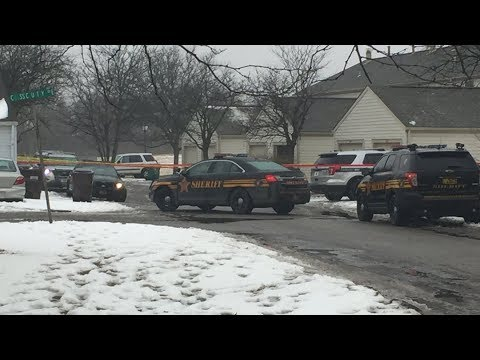 LIVE: The funeral home procession for two Westerville officers killed in the line of duty