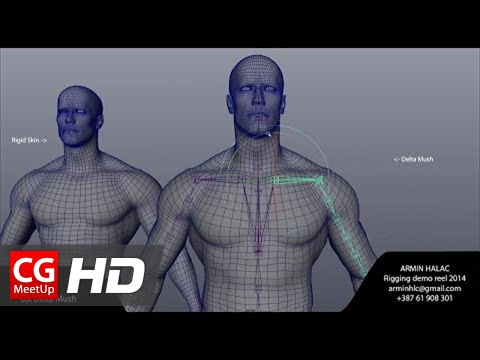 "CGI 3D Showreel HD ""Rigging Demoreel"" by Armin Halac 