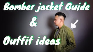 How to Style a Bomber Jacket - Men