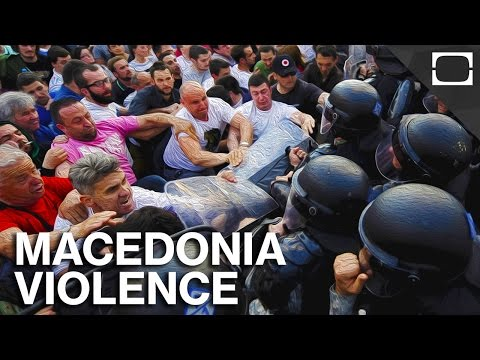 Growing Fears Of Ethnic Violence In Macedonia