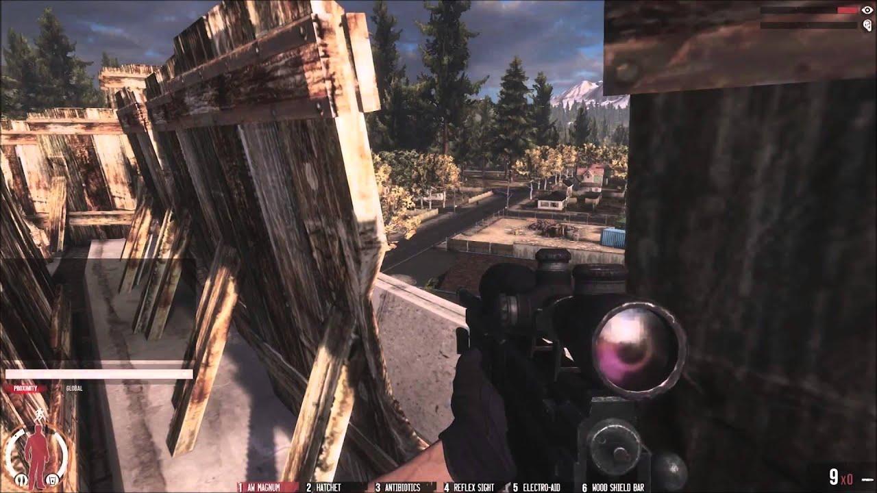 Видео WarZ / Infestation Gameplay Trailer 2013