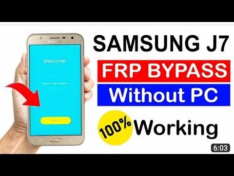 Samsung J700 Frp  Without Pc Nd Otg