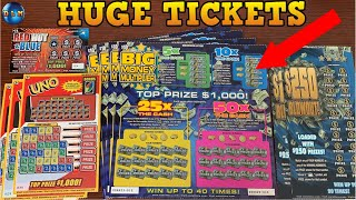 WE PLAYED $60 OF NEW MEXICO SCRATCH OFF TICKETS AND WON?