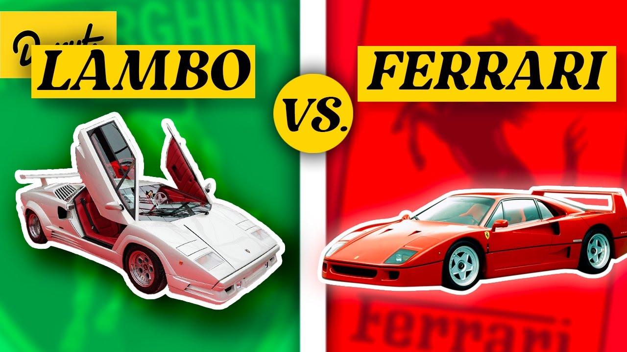 Download Ferrari Vs Lamborghini - The Rivalry EXPLAINED