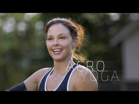 AcroYoga: Ashley Judd for Copperfit