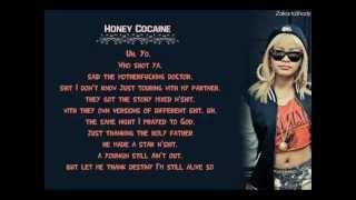 "Honey Cocaine - Who Shot Ya Feat. Tyga "" Official Lyrics "" HQ"
