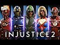 Injustice 2: NEW LEGENDARY MULTIVERSE & CW/TV GEAR REVEALED!!