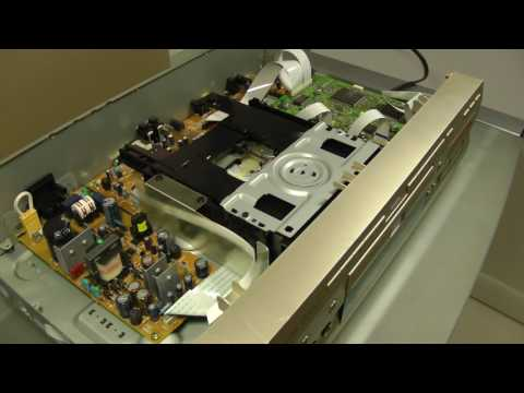 Fryode Lab Pioneer DV-K102 Karaoke DVD Tray Repair
