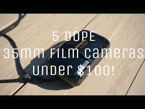 5 DOPE 35mm Film Cameras under $100!