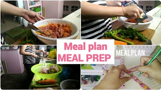 MEAL PLAN / MEAL PREP /PHILIPPINE