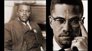 Malcolm X, Garveyism, UNIA, & Jackson , Michigan
