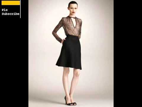 Black A Line Skirt Sample Design | Womens A-Line Skirts Romance ...