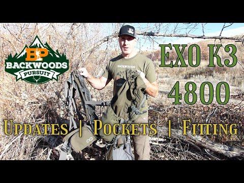 Exo K3 4800 Review: Internal Frame Hunting Backpack