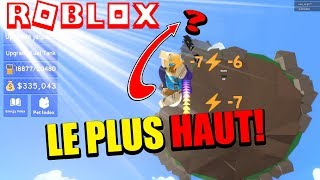 LE PLUS HAUT POSSIBLE !! JETPACK SIMULATOR (ROBLOX Français)