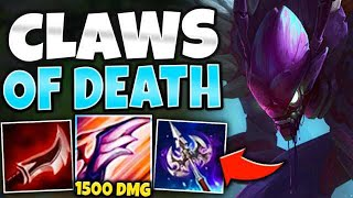 WTF?! EVOLVED Q ONE SHOTS?! MID KHA'ZIX DOES TOO MUCH DAMAGE! - League of Legends