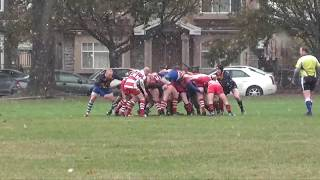 Men's Rugby: Scribes vs Rowers