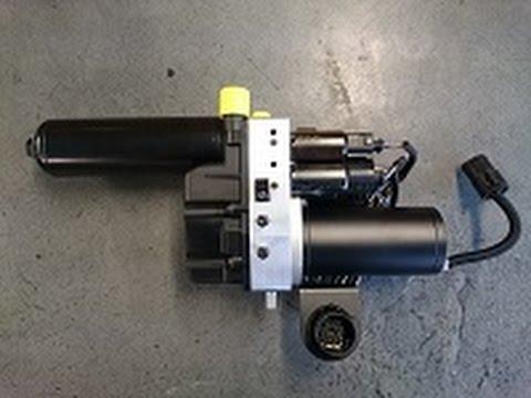 e46 m3 smg hydraulic pump diy