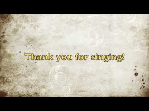 Karaoke Sweeney Todd - My Friends