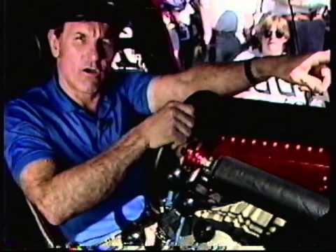 1988 Inside Bob Glidden Pro Stock Ford Thunderbird w/ Atlanta Crash & Pomona Race NHRA