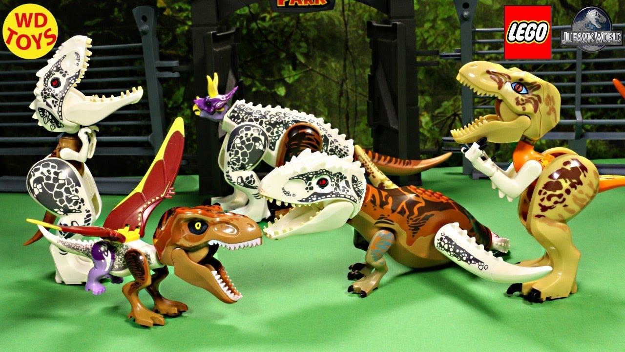 New Lego Jurassic World Hybrid Dinosaur Mutant Toys ...
