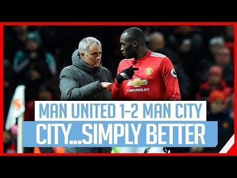 MANCHESTER UNITED 1-2 CITY | MOURINHO GOT IT ALL WRONG...AGAIN