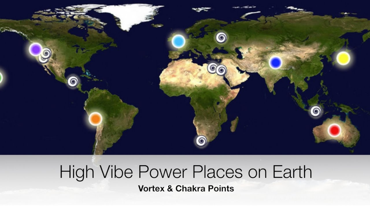 Vortex Destinations - High Vibe - Chakra Points on Earth - Sandra Rolus