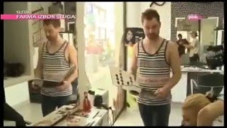 "Bogdan Krstic Hairdresser ""Kuca od Srca"" Pink"