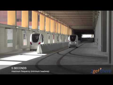Operational Masdar PRT System – 2getthere