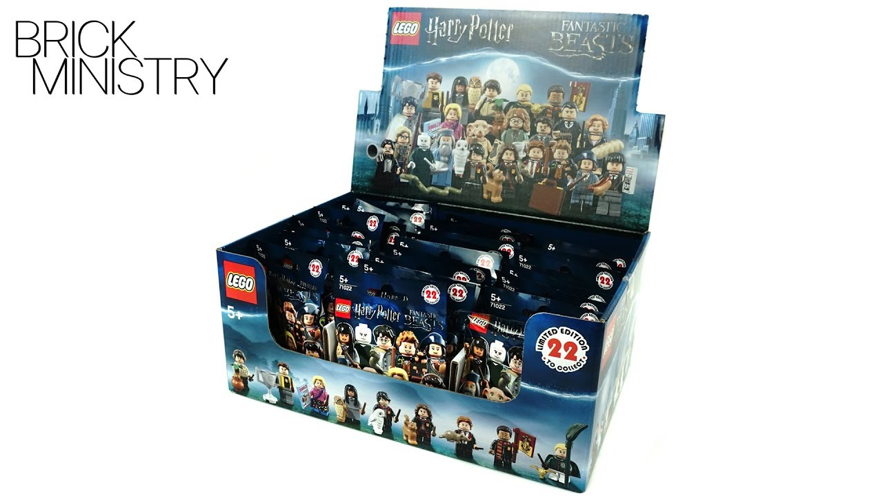 Complete set of 22 Lego #71022 Harry Potter minifigures w//Percival Graves