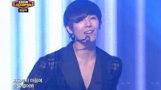 MBLAQ - Smoky Girl, 엠블랙 - 스모키 걸, Show champion 20130620