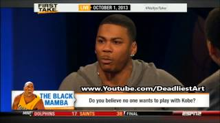ESPN First Take | Nobody wants to play with Kobe Bryant? - ESPN Sport First Take