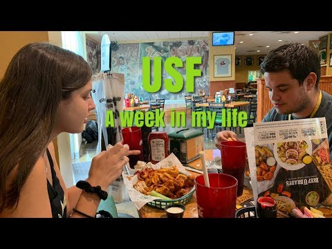 A WEEK IN MY LIFE: USF POD VLOG 1