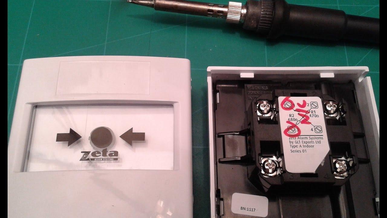 Переделка пожарной кнопки с NO на NC