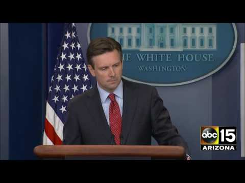 Josh Earnest says he's not annoyed by questions over the $400 million payment to Iran