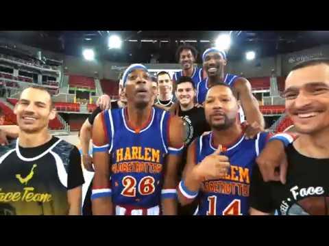 Epic Tricks with Face Team | Harlem Globetrotters
