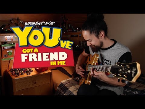 """""""You've Got A Friend In Me"""" - Toy Story (solo jazz guitar)"""