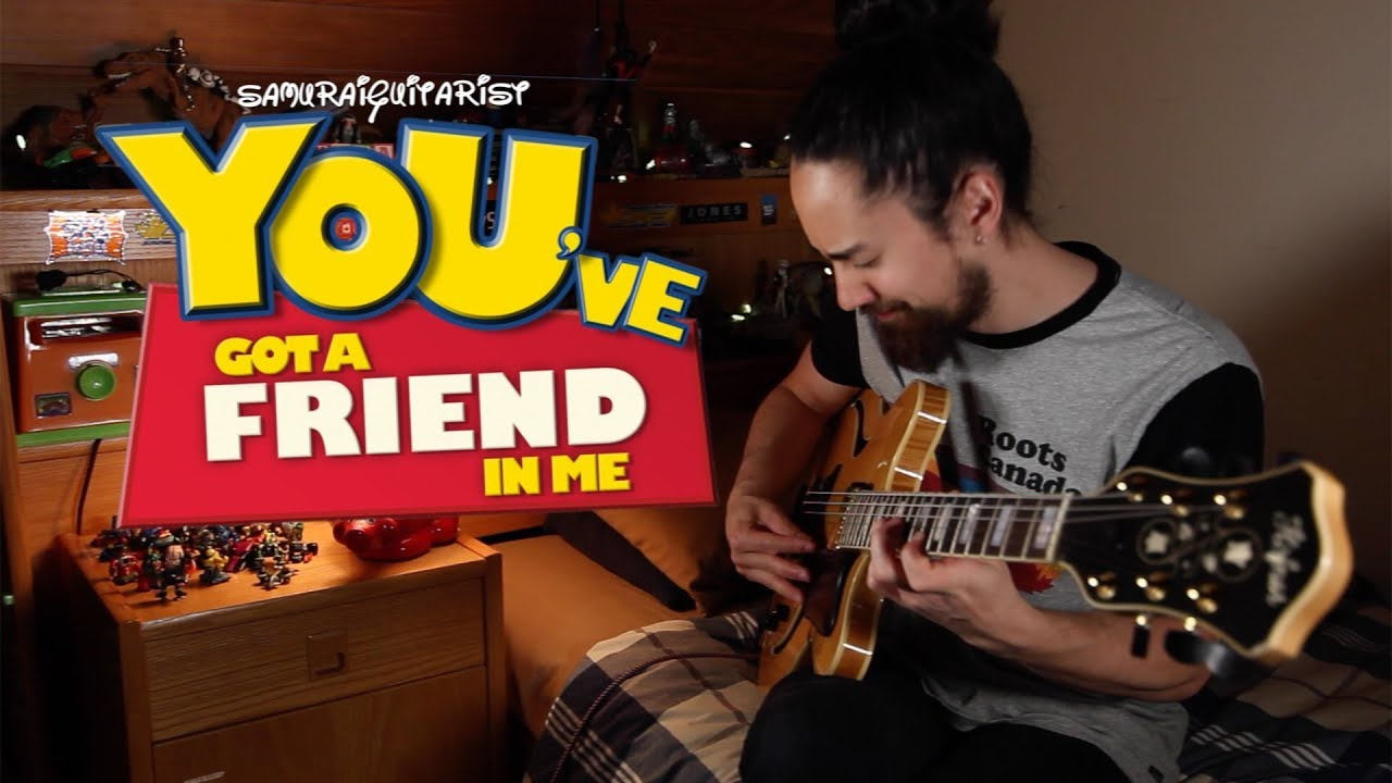 Youve Got A Friend In Me Toy Story Solo Jazz Guitar Youtube