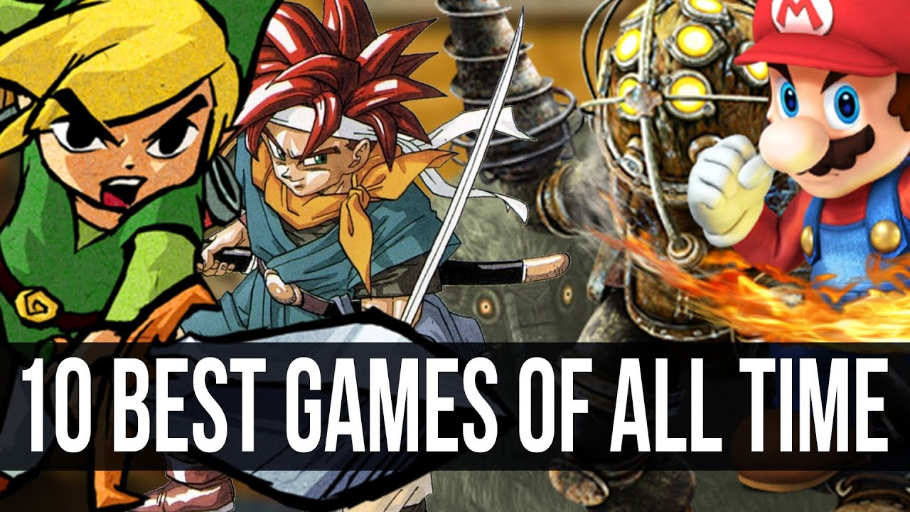 10 Games You Have To Play Before You Die Top 10 Games