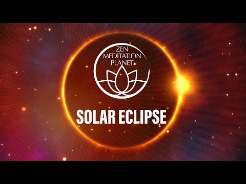 Total Solar Eclipse in Leo - Sun Salutation Yoga, Meditation Music